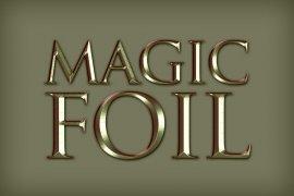 Magic Foil Photoshop Style