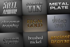 Metal Styles Pack 1