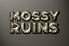 Mossy Ruins Photoshop Style