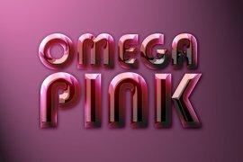 Omega Pink Photoshop Style