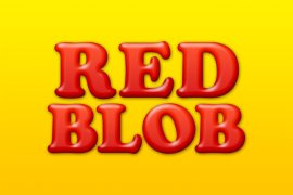 Red Blob Photoshop Style