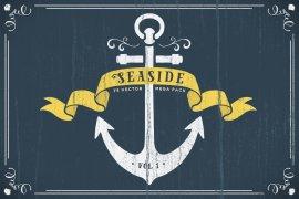 Seaside Nautical Vector Pack Volume 1