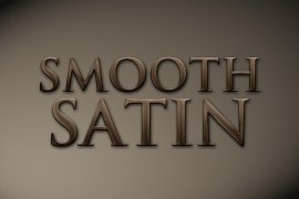 Smooth Satin Photoshop Style