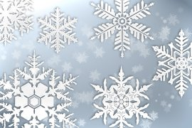 Snowflakes Brush Pack 1