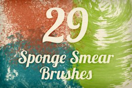 Sponge Smears Brush Pack 1