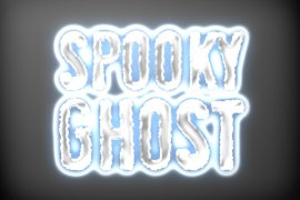 Spooky Ghost Photoshop Style 2