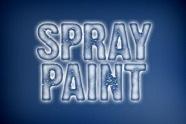 Spray Paint Photoshop Style