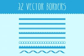 Vector Borders Pack 1