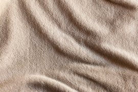 Wrinkled Fuzzy Blanket