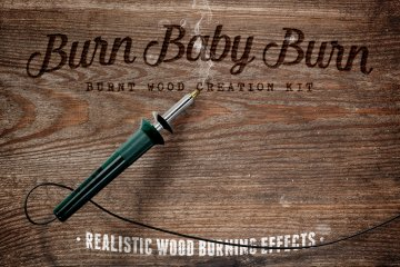 Burn Baby Burn Woodburning Effects Kit