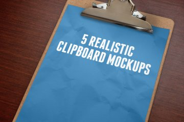 Clipboard Mockups Volume 1