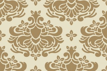 Damask Pattern 005