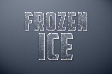 Frozen Ice Photoshop Style