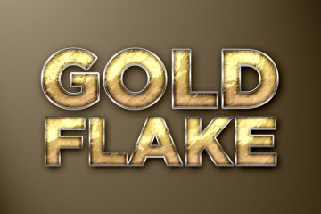 Gold Flake Photoshop Style