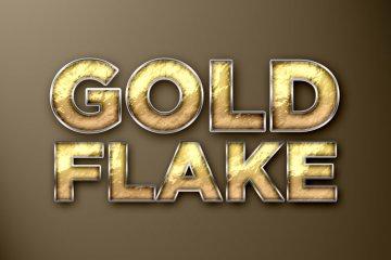 Gold Flake Photoshop Style