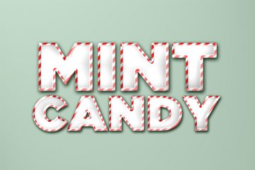 Mint Candy Photoshop Style 2