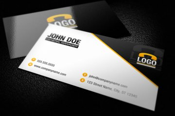 Modern Business Card Template 1