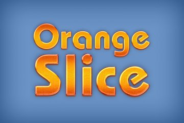 Orange Slice Photoshop Style