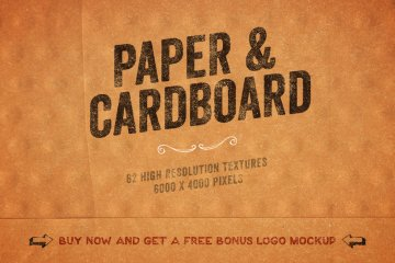 Paper and Cardboard Textures Pack Volume 3