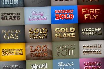 Photoshop Styles Mega Pack 5