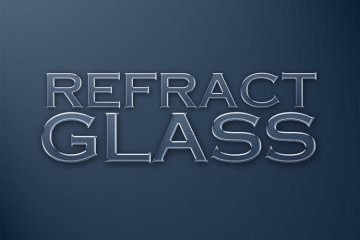 glass & water photoshop styles pack