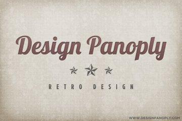 Retro Linen Textured Letterpress Graphic Project Files