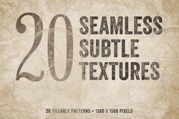 Seamless Subtle Textures Volume 1
