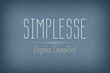 Simplesse Font Family