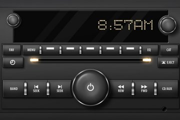 Sleek Car Stereo Interface Project Files