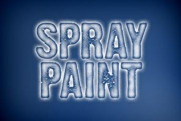 Spray Paint Photoshop Style