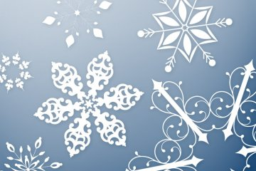 Snowflakes Vector Pack 1