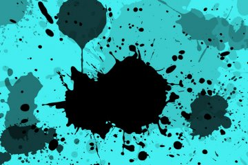 Splatter Vector Pack 1