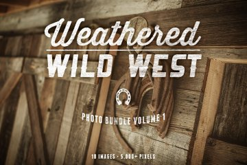 Weathered Wild West Photo Bundle Volume 1