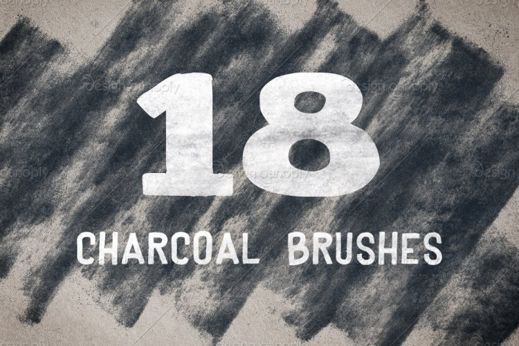 Charcoal Brush Pack Volume 1
