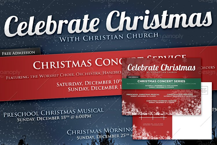 Christmas and Holiday Announcement Templates | Design Panoply