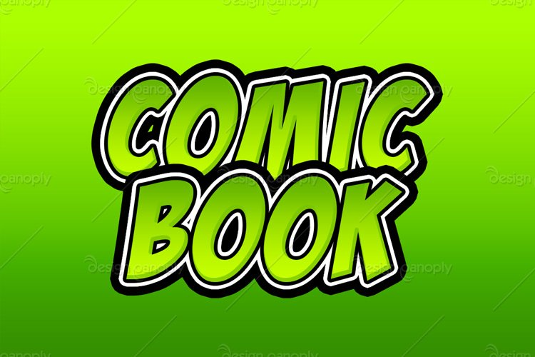 Comic Book Photoshop Style 2