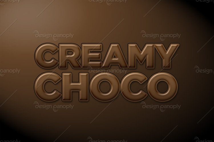 Creamy Chocolate Photoshop Style