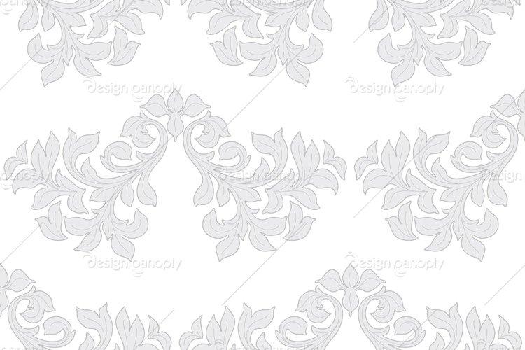 Damask Pattern 007