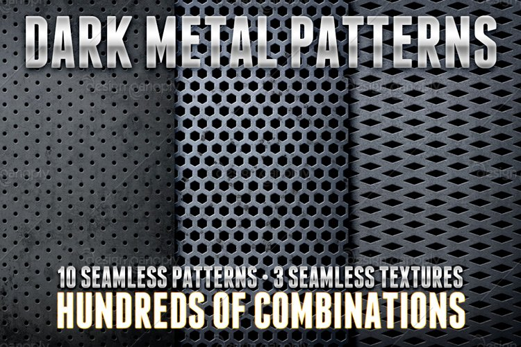 Dark Metal Pattern Pack 1