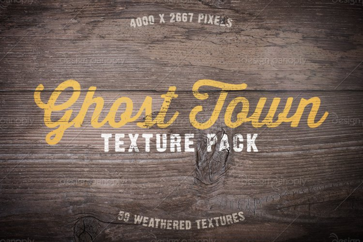 Ghost Town Texture Pack Volume 1