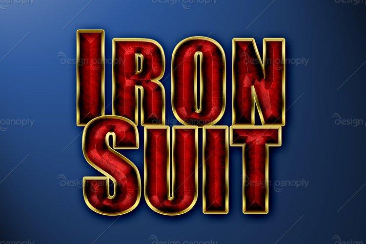 Iron Suit Photoshop Style