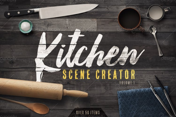 Kitchen Scene Creator Volume 1