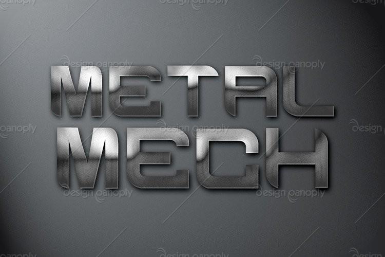 Metal Mech Photoshop Style