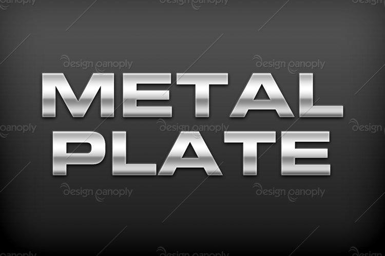 Стили металл для фотошопа