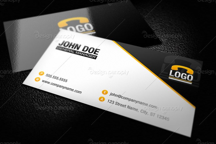 Modern business card template 1 design panoply modern business card template 1 flashek Image collections