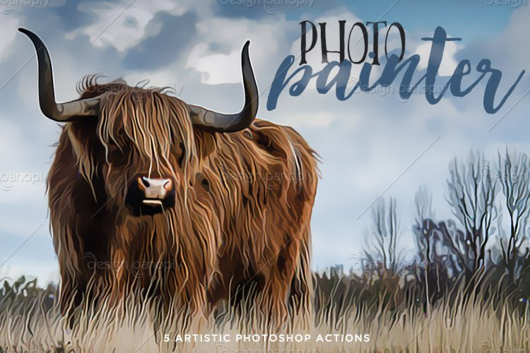 Photo Painter Photoshop Actions Volume 1