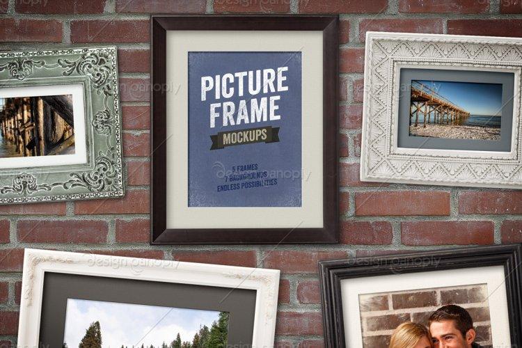 Picture Frame Mockups Volume 1