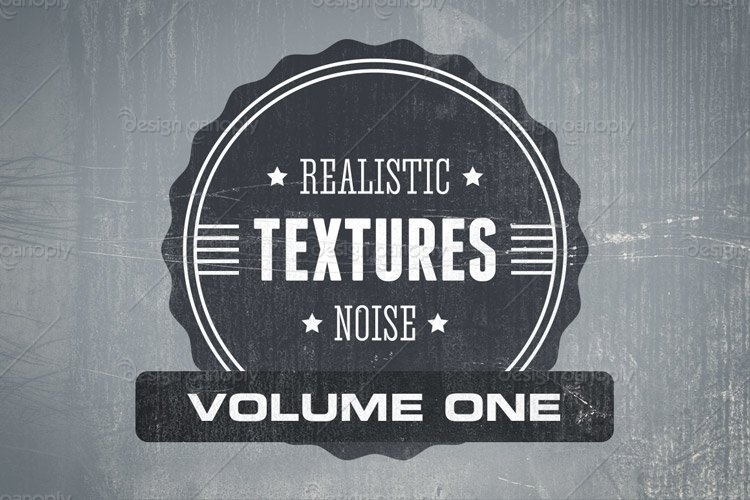Realistic Noise Textures Volume 1