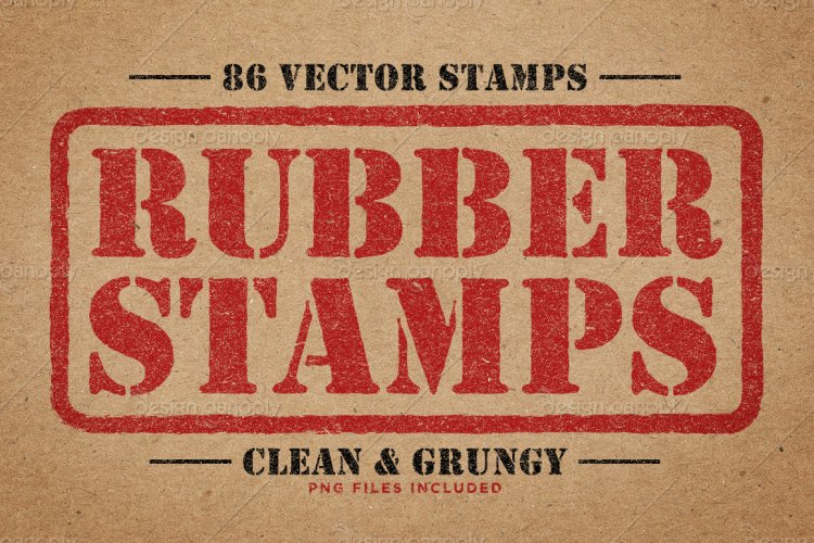 Rubber Stamps Vector Pack Volume 2
