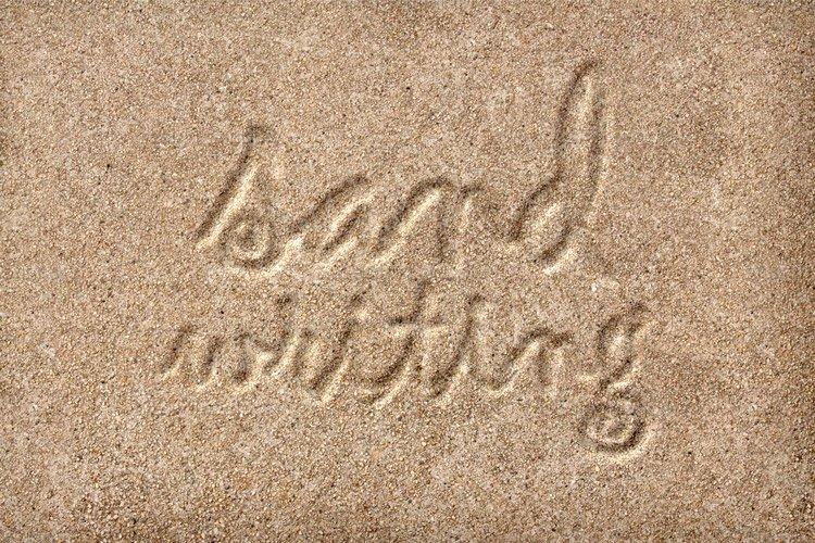 Sandy Handwriting Photoshop Style